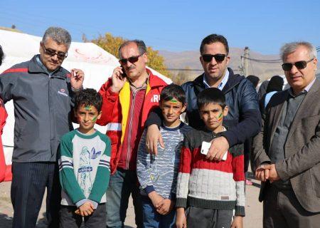 بازدید مدیرعامل سازمان از روستای زلزله زده ورنکش در شهرستان میانه