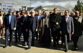 افتتاح ساختمان شهرداری ملکان با حضور مهندس رحمتی