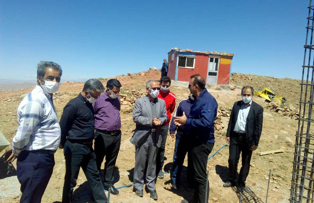 بازدید دکتر رحمتی از پروژه آمفی تئاتر روباز  و سایت گردشگری تفرجگاه عون بن علی