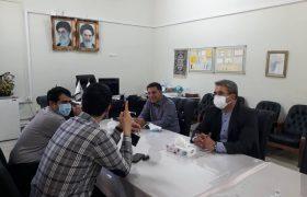 بازدید دکتر رسول جانی و مهندس کامیار دادگر از مجموعه باباباغی تبریز